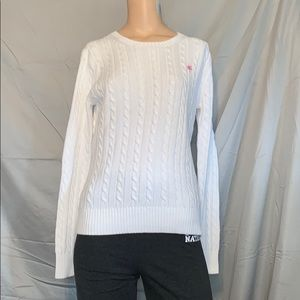 NWOT Lily Pulitzer White Sweater